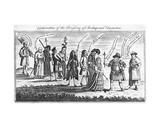 Continuation of the Procession of Shakespeare's Characters During the Jubilee Celebrations  1769