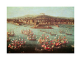 The Fleet of King Charles III of Spain before the City of Naples  6 October 1759