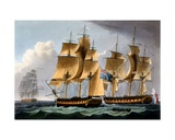 Capture of the Furie and Waakzaamheid  October 23rd 1796  from 'The Naval Achievements of Great…