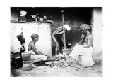 An Indian Kitchen  C1870s