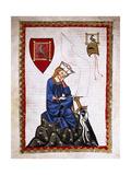 Walther Von Der Vogelweide (1170-1230) Codex Manesse (Ca1300)