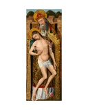 Holy Trinity  Exterior Panel of the Weston Triptych  C1480