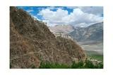 Himalayan Landscape: Tibetan Buddhist Monastery (Karsha Gompa  Largest in Zanskar  Gelugpa Order)…