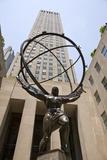 Statue of Atlas  Rockefeller Center