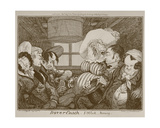 Dover Coach  5 O'Clock Morning  Etched by George Cruikshank  1826