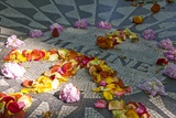 John Lennon Tribute in Strawberry Fields in Central Park  New York