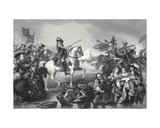 Battle of the Boyne  Engraved by W French