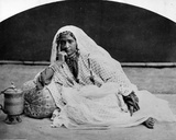 Kashmiri Nautch Girl  C1860s