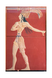 Minoan Art Crete Prince of the Lilies