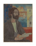 Portrait of Emile Bernard in Florence  1893
