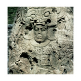 Pre-Columbian Art MayaTikal Relief of the North Acropolis Peten Guatemala
