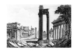 General View of the Roman Forum  1817