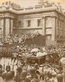 Stereographic Print of Queen Victoria's Diamond Jubilee
