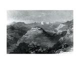 Lady Hester Stanhope's Residence at Joon  on Mount Lebanon  1845