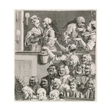 The Laughing Audience Hogarth's View of Drury Lane with Orange Wenches in 1733