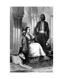 Miss Tinne in Her Cairo Home  Illustration from 'Le Tour Du Monde'  1871
