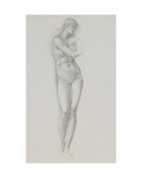 Nude Female Figure  Study for Venus from the 'Pygmalion Series'  C1875