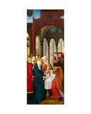Presentation of Christ at the Temple  Left Panel of the Weston Triptych  C1480