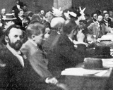 Group of Delegates at the Zionist Congress  Basle  1897