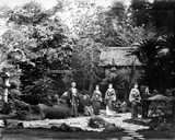 Japanese Garden at Hara  C1860s