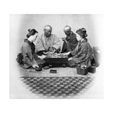 Playing Go  C1860s