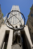 Statue of Atlas  Rockefeller Center  New York