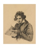 Portrait of Ludwig Van Beethoven  C1870