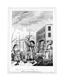 A Cornish Hug in Billingsgate  1781