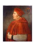 Portrait of Thomas Wolsey  Cardinal of York  C1675