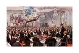 The Pilgrim's Banquet at the Savoy