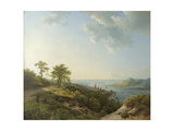 View over Heidelberg  1837