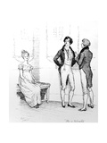 She Is Tolerable'  Illustration from 'Pride and Prejudice' by Jane Austen  Edition Published in…