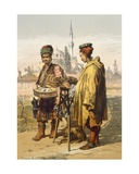 Ambulant Snack Sellers  1865