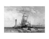Margate  Kent  Engraved by Henry Wallis  C1830