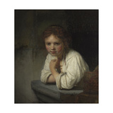 Girl at a Window  1645