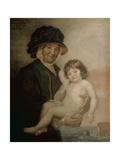 Martha Gunn and the Prince of Wales  C1762