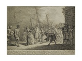 The Most Illustrious Signor Senesino's Landing in England  C1726