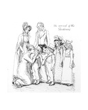 The Arrival of the Gardiners  Illustration from 'Pride and Prejudice' by Jane Austen  Edition…