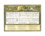 Sir Simon De Montfort'  Song Illustration from 'Pan-Pipes'  a Book of Old Songs  Newly Arranged…