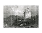 Gilnockie - or Johnny Armstrong's Tower (Dumfries-Shire)  Engraved by Henry Adlard  1937