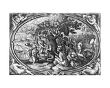 Aestas  Engraved by Philip Galle  C1580