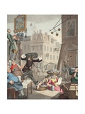 Beer Street  Illustration from 'Hogarth Restored: the Whole Works of the Celebrated William…