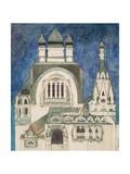 Unrealised Design for a Church at Talashkono  1899