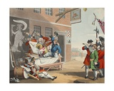 England  Illustration from 'Hogarth Restored: the Whole Works of the Celebrated William Hogarth …