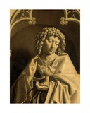Detail of St John the Evangelist  from the Exterior of the Right Wing of the Ghent Altarpiece …