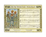 We Be Three Poor Mariners'  Song Illustration from 'Pan-Pipes'  a Book of Old Songs  Newly…