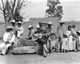 Concha Michel with Campesinos  Mexico  C1927