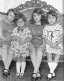 Four Girls  Mexico City  C1926