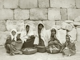 A Group of Fellahin at the End of the Market  C1867-98