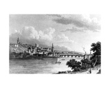 Newcastle from Askew's Wood  Engraved by Edward Francis  1829